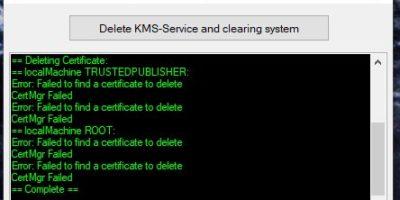KMSCleaner 2.2