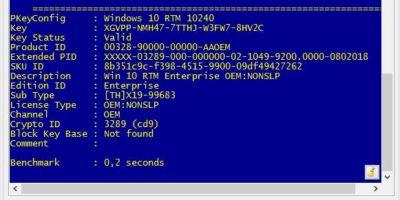 Pidkey 2.1 Portable Rus - проверка ключей активации